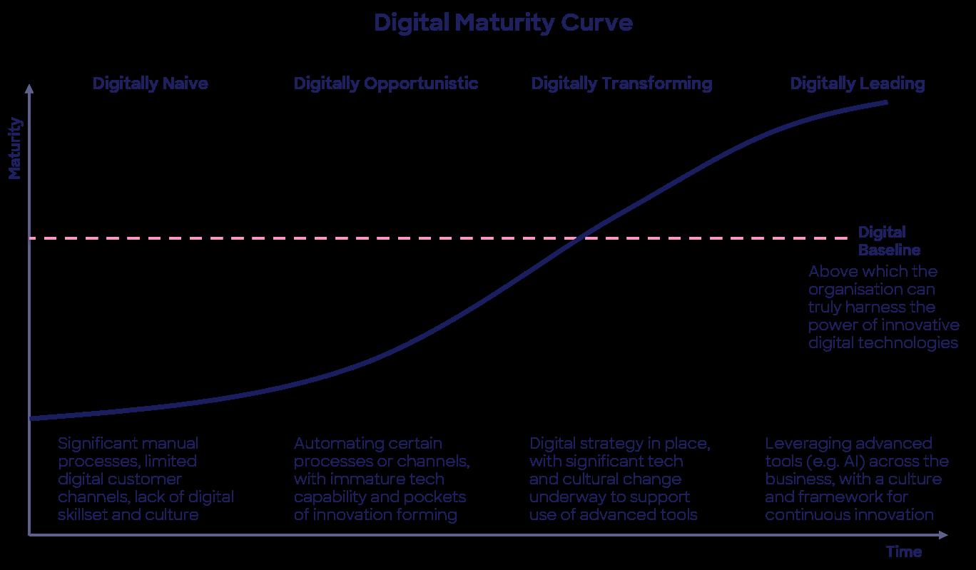 Digital Maturity Curve